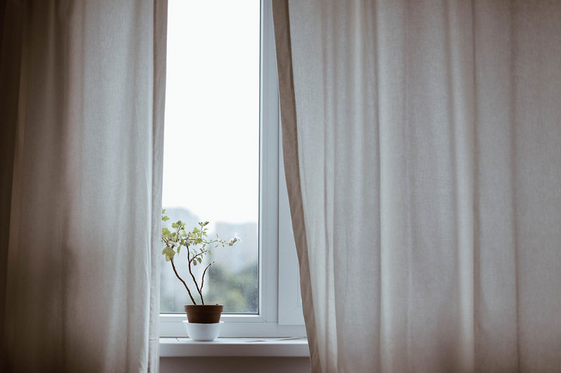 Natürlichkeit auch vor dem Fenster