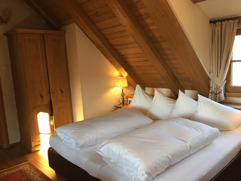 Die Turmsuite im Hotel Schloss Mittersill