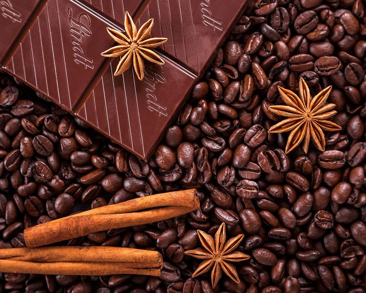 Wellness mit Schokolade, Kaffee oder Erdbeeren