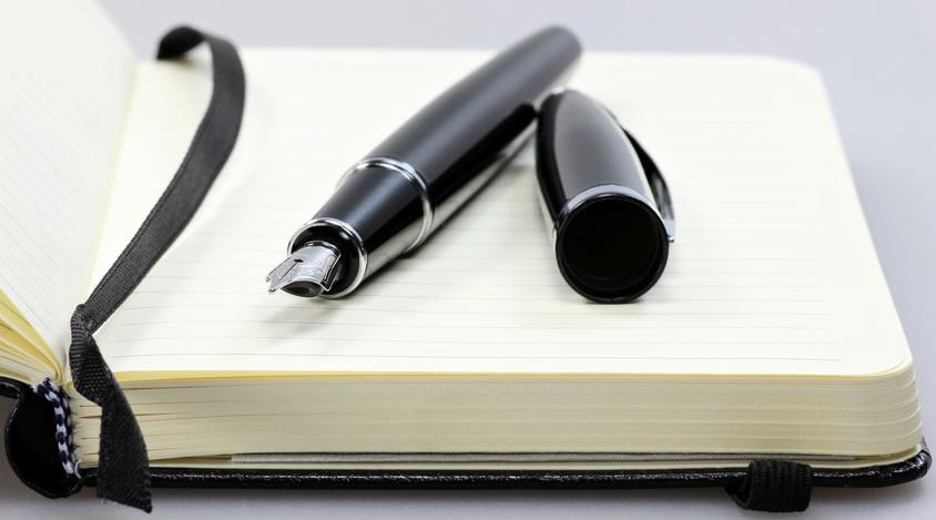 Oft ist der Anfang beim Schreiben schwer