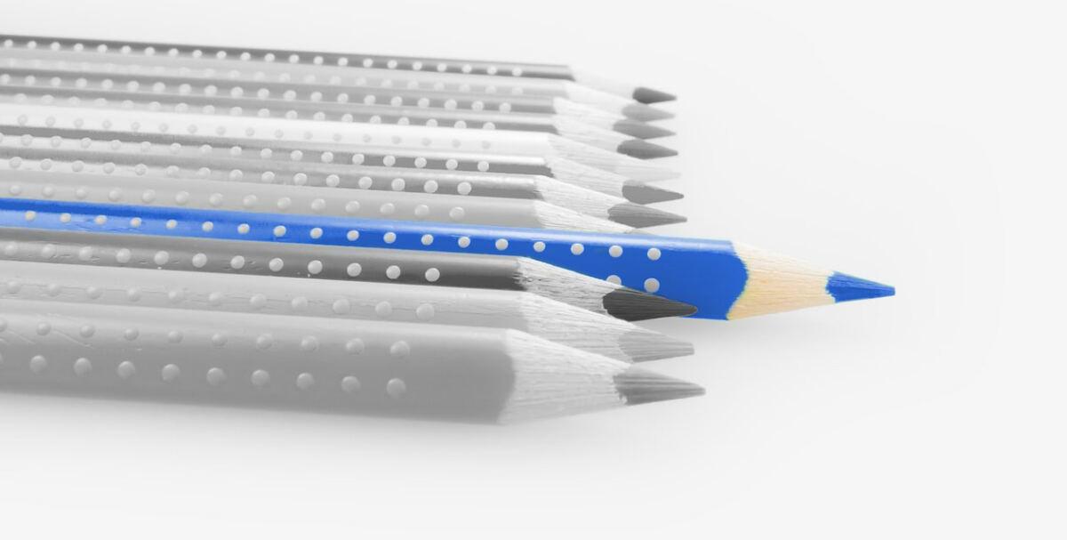 Buntstifte für den Schulanfang