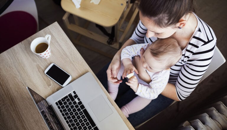 Erfolgreich selbstständig als Mutter
