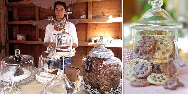Gabriele Danek von der Simply Raw Bakery