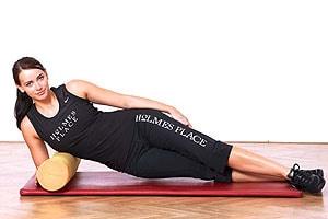 Entspannung des breiten Rückenmuskels; Bildquelle: Holmes Place