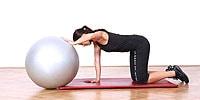 Stretching des breiten Rückenmuskels; Bildquelle: Holmes Place