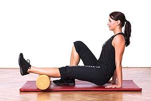 Aktive Wadenmuskelmassage; Bildquelle: Holmes Place