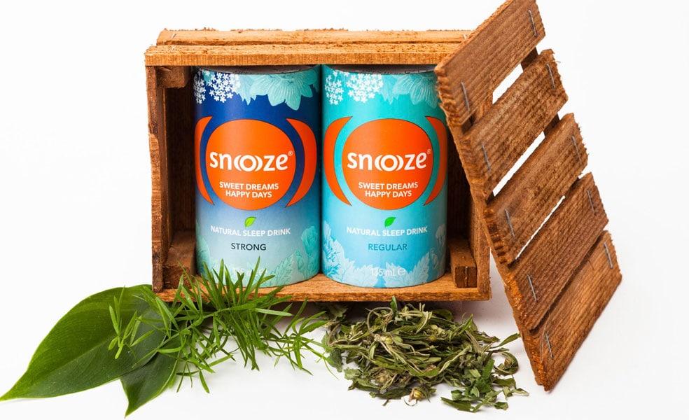 Snoooze - der natürliche Schlafdrink