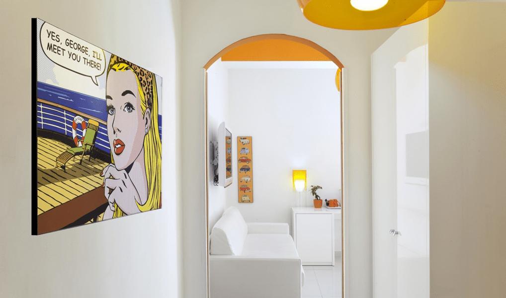 Pop-Art im Hotel Palazzo Abagnale in Sorrento