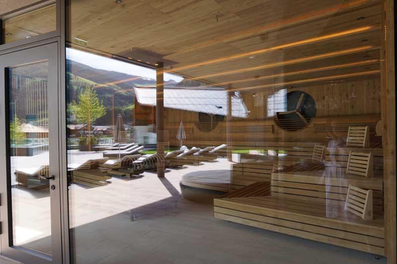Sauna im Edelweiss Mountain Resort