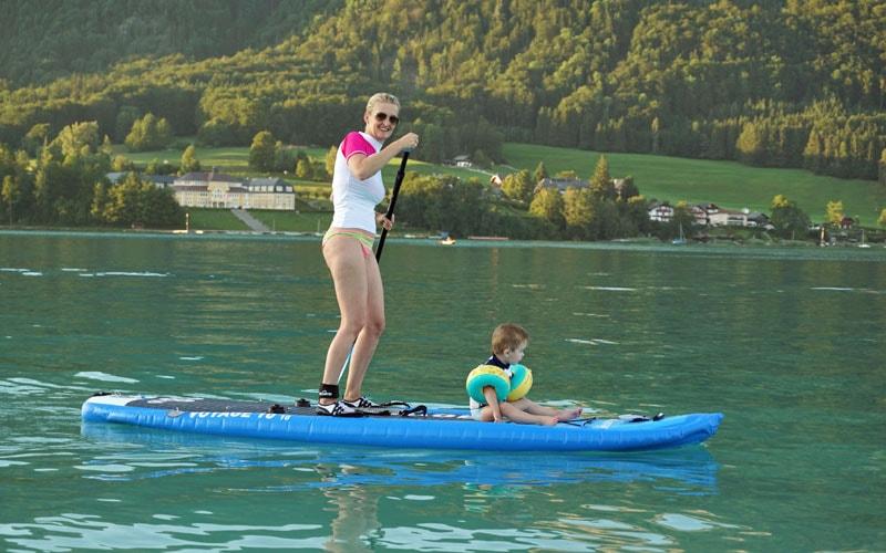 Riesenspaß: Stand Up Paddling mit dem Bluefin Voyage