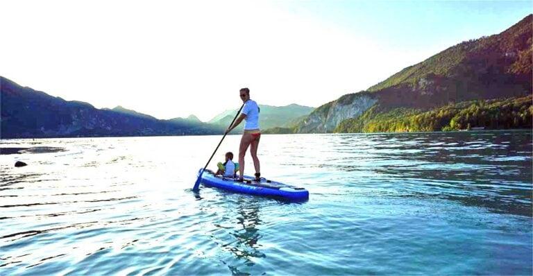 Stand Up Paddling mit dem Bluefin Voyage im Test