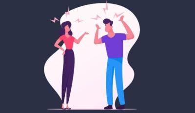 Richtig Streiten und Diskutieren gehören zu einer Partnerschaft dazu