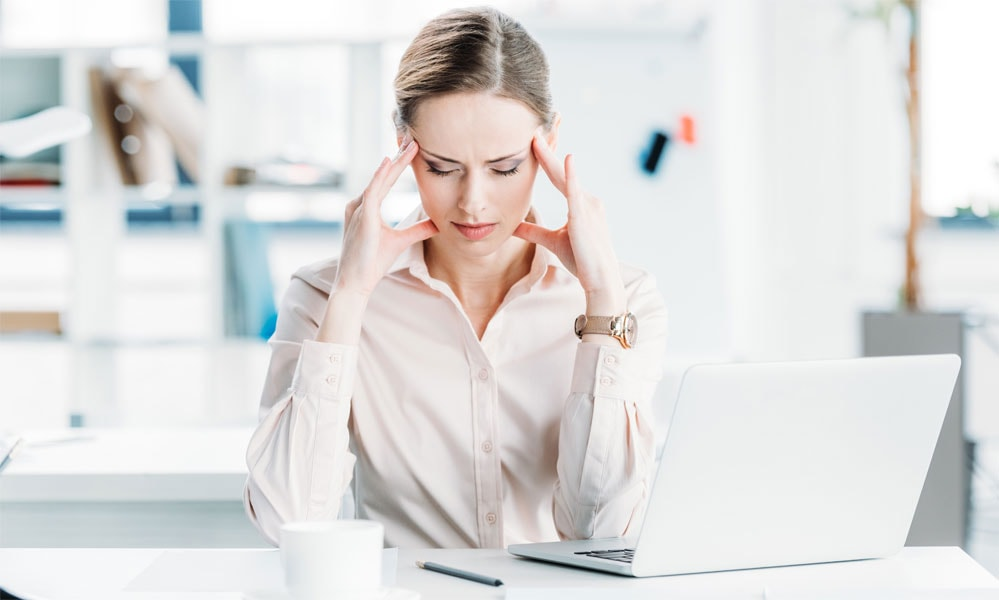 Hast du Stress-Symptome?