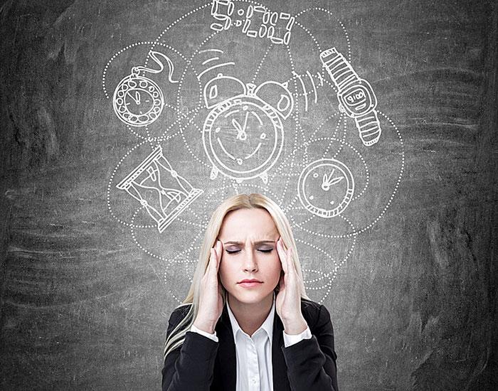 Zu wenig Entspannungsphasen führt zu Stress.