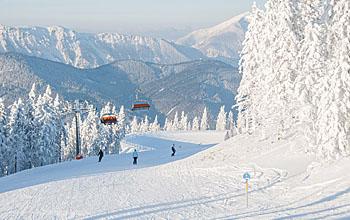 Kleines, aber feines Schigebiet Stuhleck; Bildquelle: Bergbahnen Stuhleck