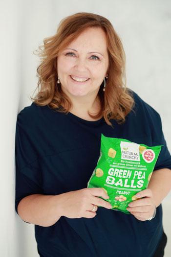 Timea Hipf, Gründerin von Natural Crunchy