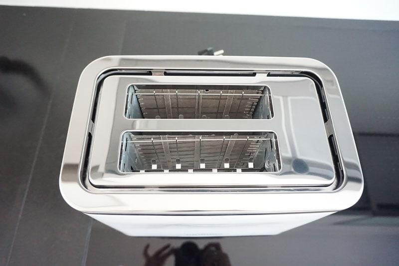 Toaster TA 5860 aus der Vogelperspektive