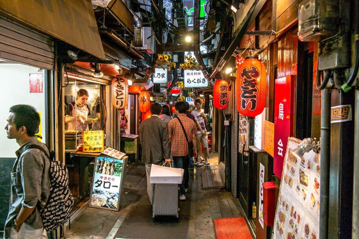 Am Markt in Tokyo