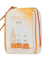 Mit dem BC Travel Kit ist dein Haar vor der Sonne geschützt