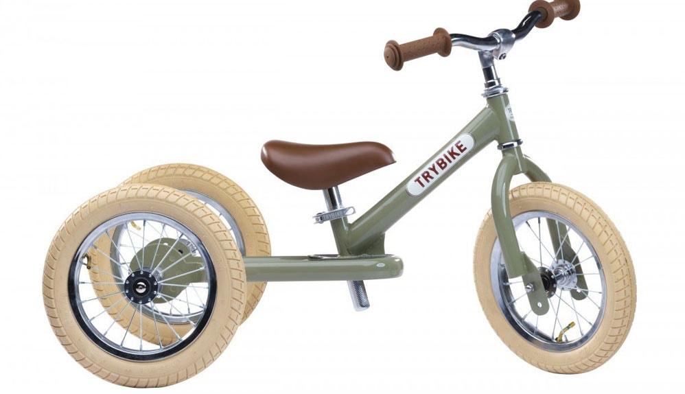 Dreirad und Laufrad in einem - das Trybike im Praxis-Test