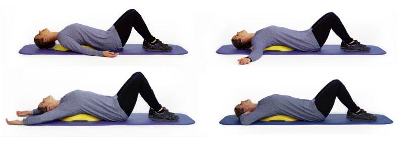 Übungen mit dem Yellow Head Back