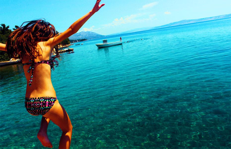 Tipps, um das Gewicht im Urlaub zu halten