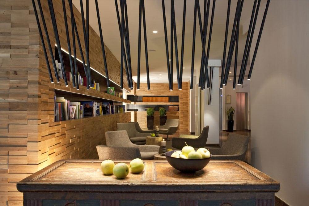Geschmackvolles Ambiente im Hotel Valserhof