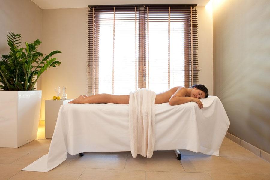 Wellnessbereich im Hotel Valserhof