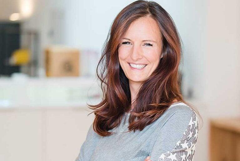 Unternehmerinnen-Porträt: Verena Sykora, Osteopathin und Gymnastiklehrerin