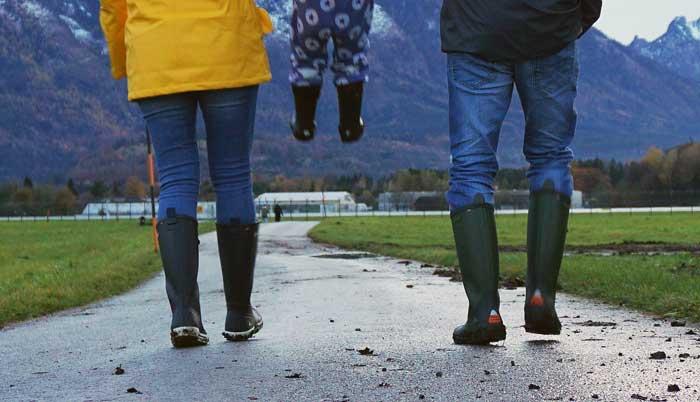 Schuhwerk für Schmuddelwetter