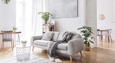 Das sind die Trends bei Wohnzimmermöbeln.