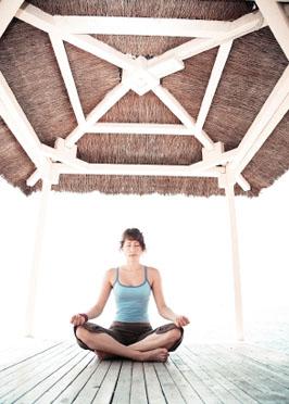 Yoga innere Balance; Bildquelle: istockphoto, Casarsa