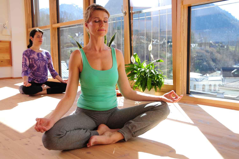 Yoga Lesson im Erzherzog Johann