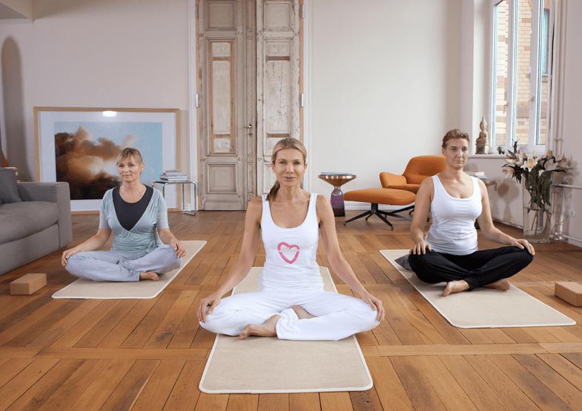 Online Programm Zum Abnehmen Basierend Auf Den Saulen Ernahrung Yoga Und Meditation