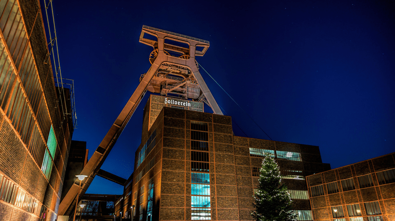 Besuch in der Zeche Zollverein