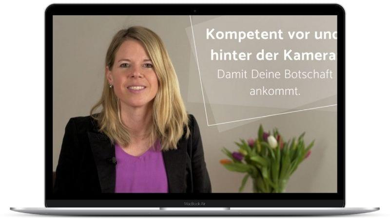 Videokurs: Kompetent vor und hinter der Kamera