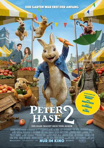 Filmplakat Peter Hase 2 - Ein Hase macht sich vom Acker