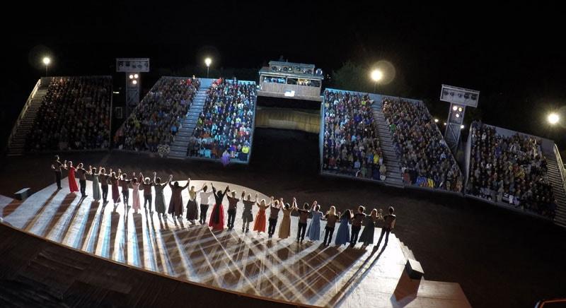 The Show must go on in der Felsenbühne Staatz
