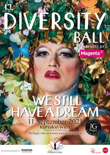 Bunt und schrill: der Diversity Ball in Wien