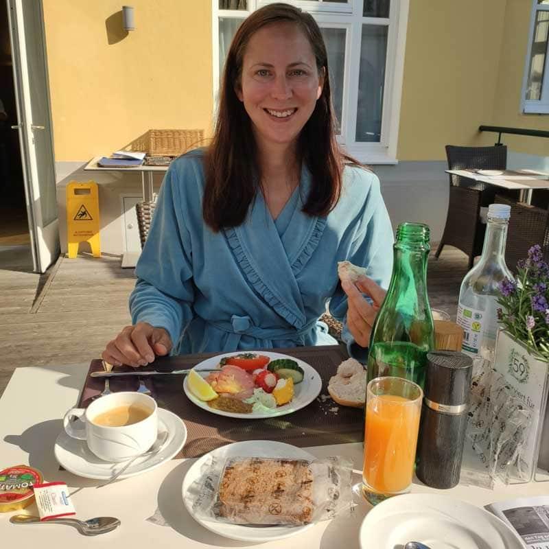 Entspannt frühstücken im La Pura