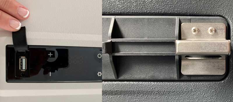 Magira Kühlbox mit USB-Anschluss und Flaschenöffner