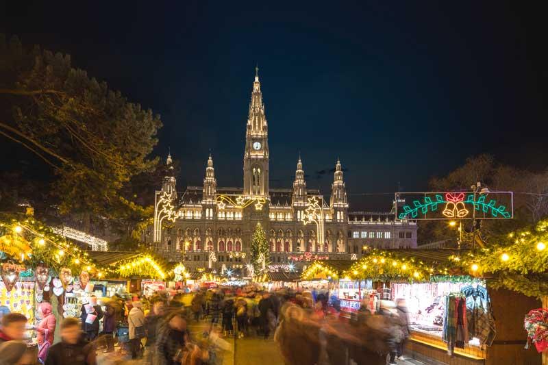 Wiener Weihnachtstraum am Rathausplatz