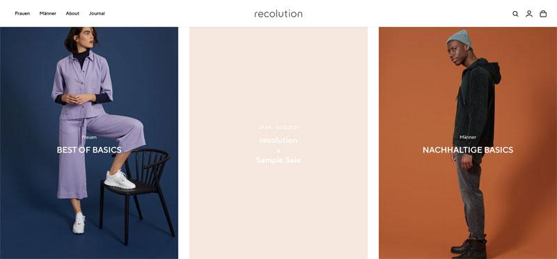 Lässige Mode aus Hamburg: Recolution